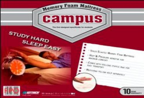 Campus Memory Foam beds and mattress toppers
